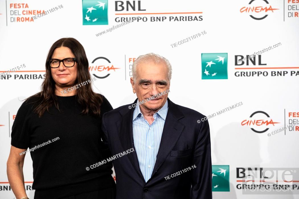 Imagen: Martin Scorsese, Emma Tillinger Koskoff during 'The Irishman' film photocall at 14th Rome Film Fest, Rome, Italy 21/10/2019.