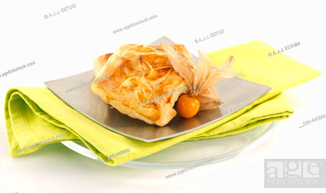 Stock Photo: Cheese pie.