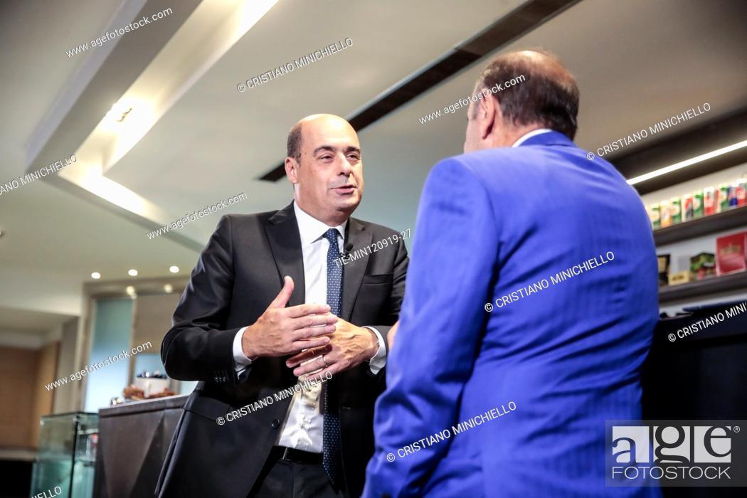 Porta Tv Lazio.Nicola Zingaretti Secretary Of Democratic Party And