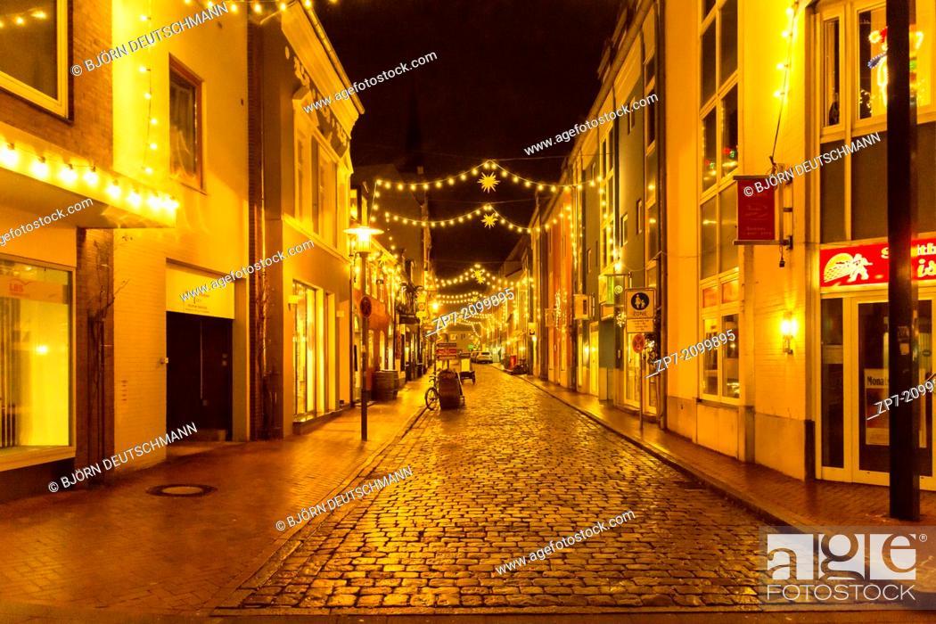 Stock Photo: The Christmas Market at Flensburg.
