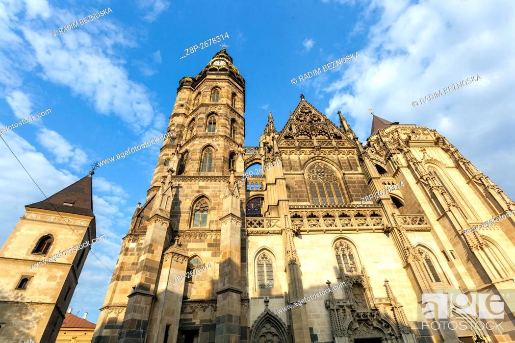 Imagen: St. Elisabeth Cathedral, Kosice, Slovakia, Europe.