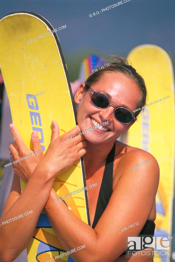Stock Photo: Water ski.