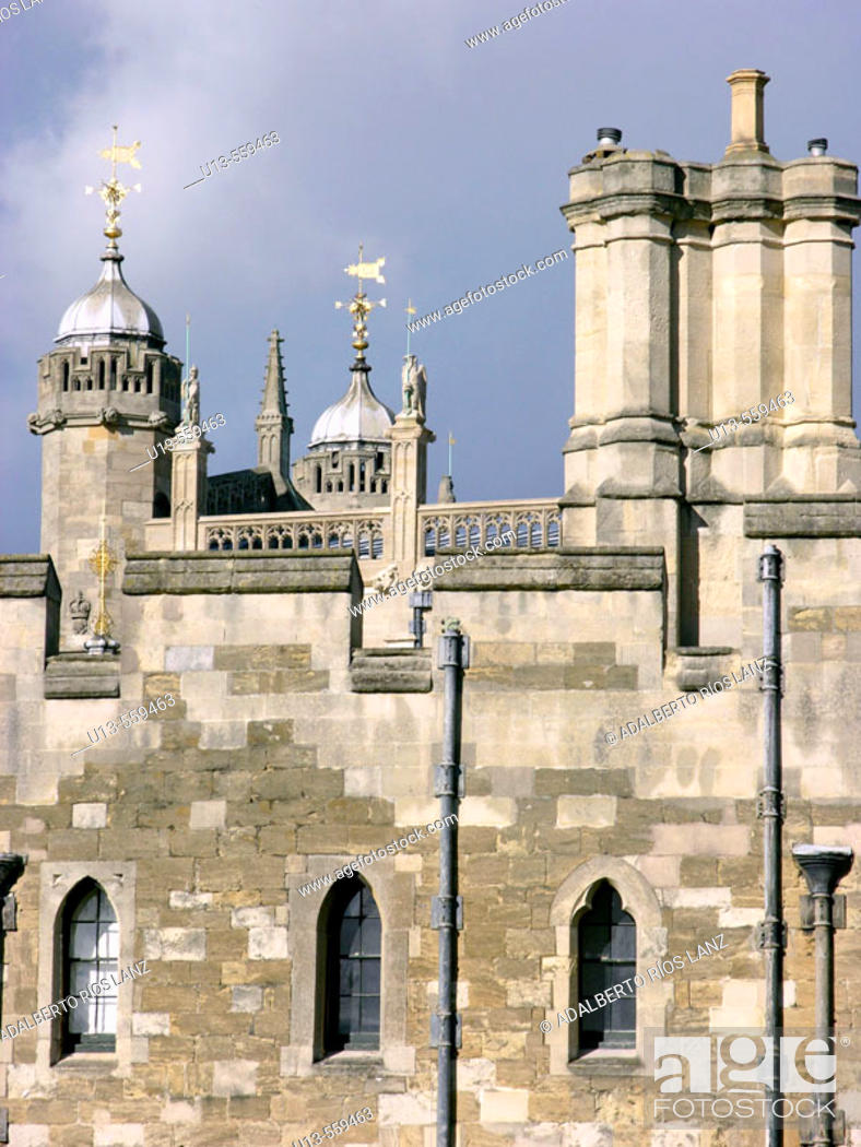 Stock Photo: The Tower of London, London , England.