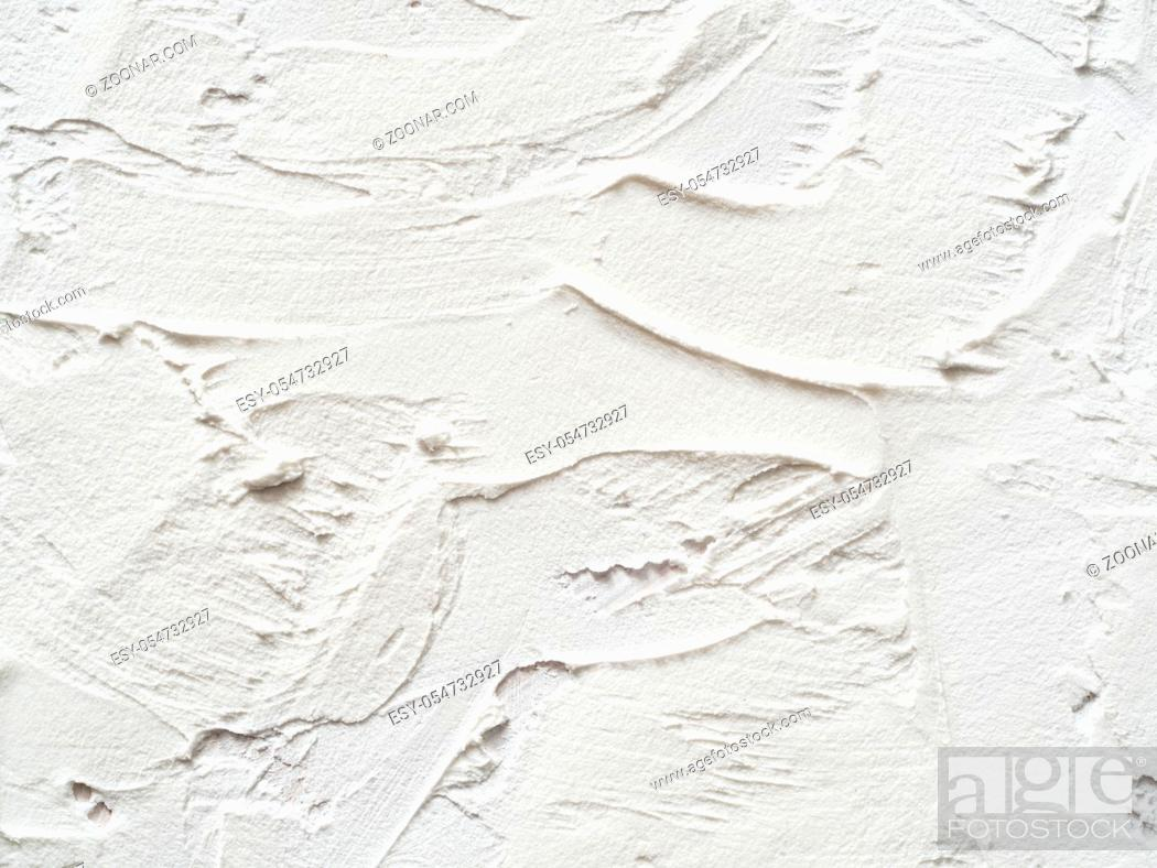 Imagen: Vintage or grungy white background of natural cement or stone old texture as retro pattern layout. It is a concept, conceptual or metaphor wall banner, grunge.