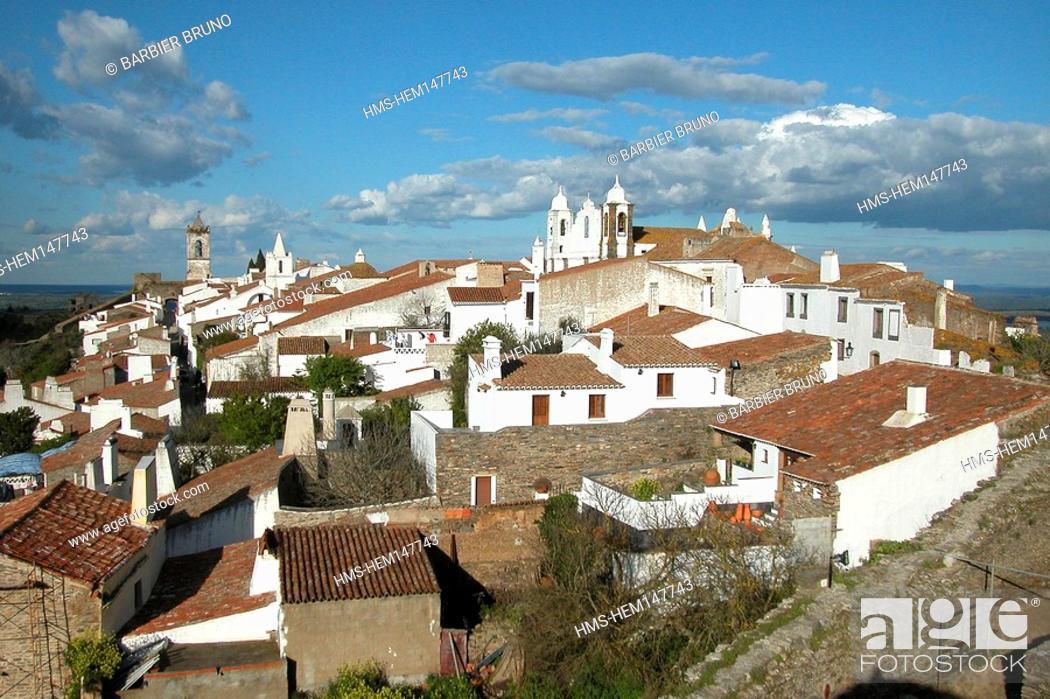 Stock Photo: Portugal, Alentejo region, Monsaraz.