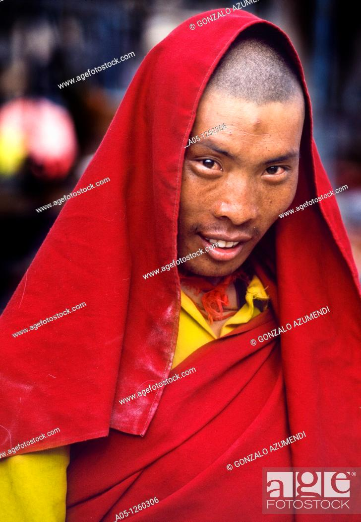 Stock Photo: Lhasa, Tibet, China.