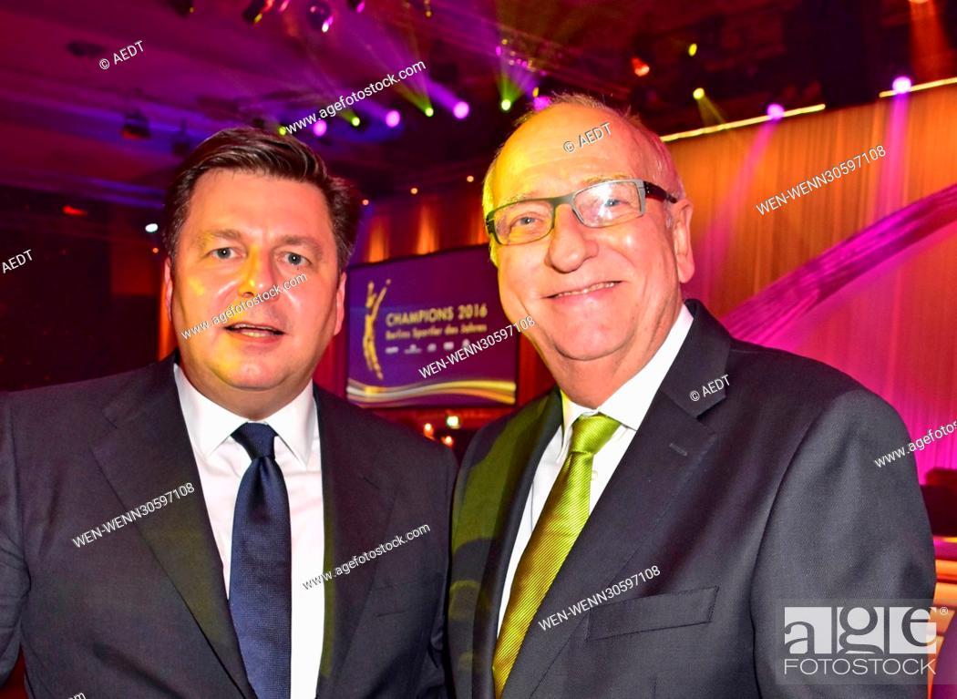 Champions Gala 2016 - Berlins Sportler des Jahres at Hotel