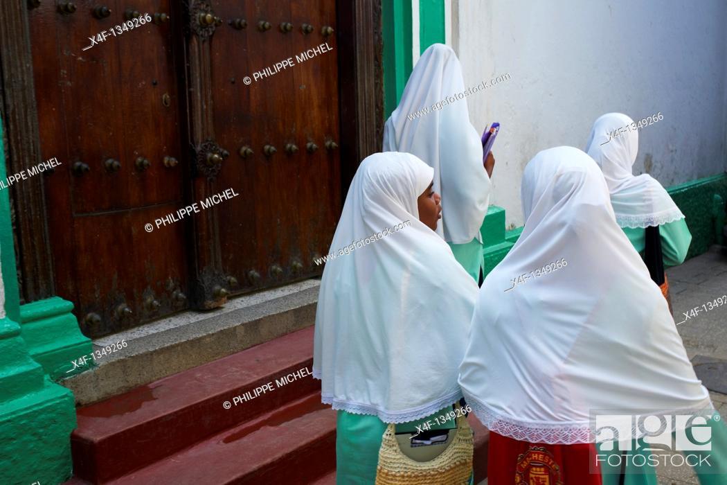 Stock Photo: Tanzania, Zanzibar island, Unguja, Stone Town, unesco world heritage.