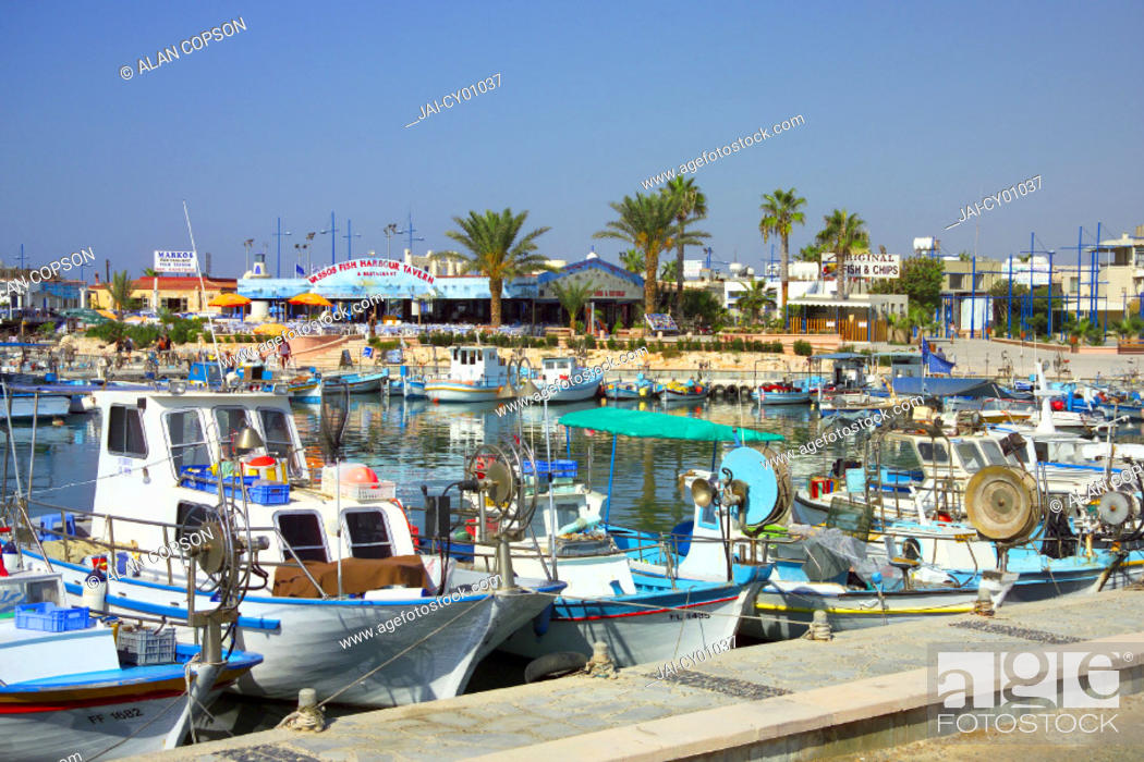 Stock Photo: Liminaki Port, Ayia Napa (Agia Napa), Greek Cyprus.