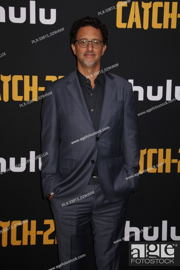 """Stock Photo: Grant Heslov 05/07/2019 The U.S. Premiere of Hulu's """"""""CATCH-22"""""""" held at The TCL Chinese Theatre in Los Angeles, CA Photo by I."""
