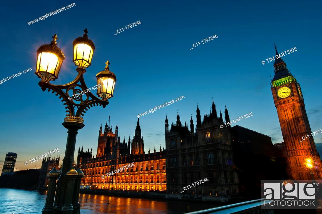 Imagen: Houses Parliament, Westminster, London, England, UK.