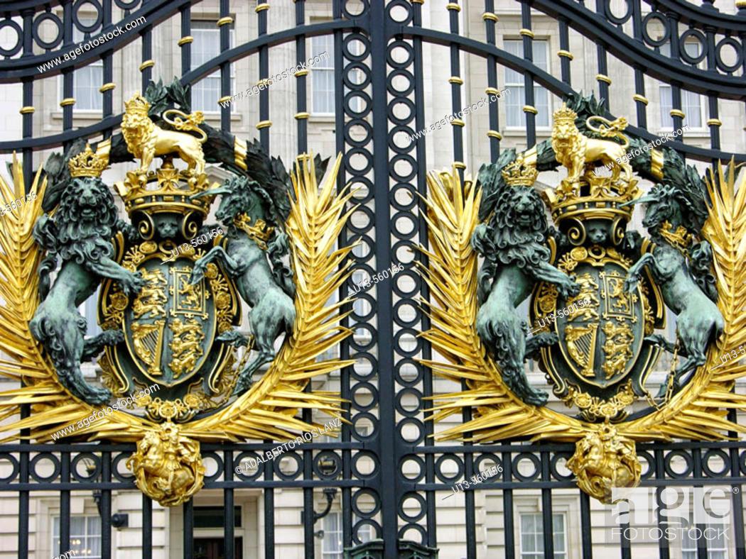Stock Photo: Buckingham Palace. London. England.