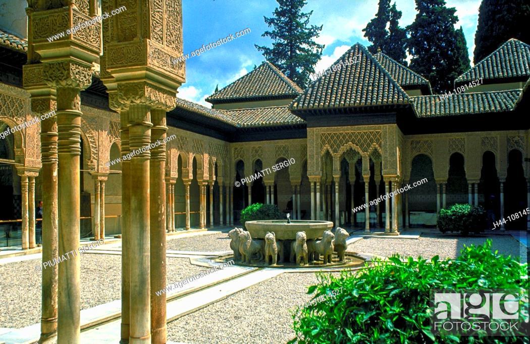 europe spain granada alhambra al qala hamra moorish architecture