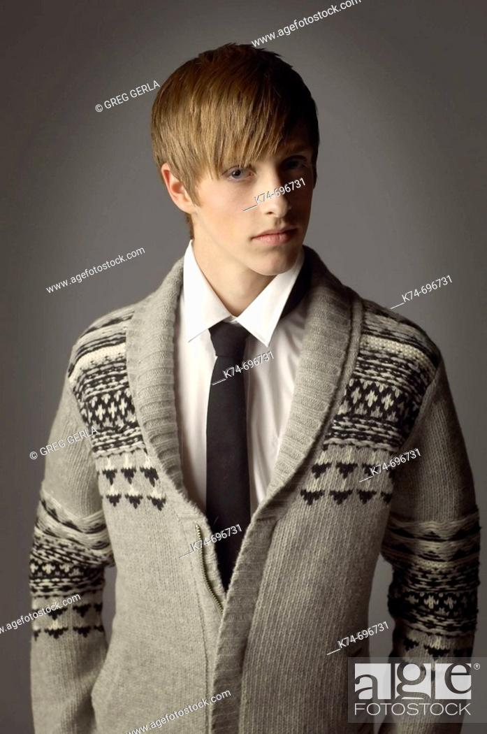 Stock Photo: Fashion image of male.