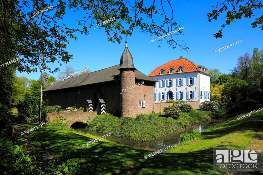Stock Photo: Germany, Nettetal, Maas-Schwalm-Nette Nature Park, Schwalm-Nette Nature Park, Lower Rhine, Rhineland, North Rhine-Westphalia, NRW, Nettetal-Breyell.