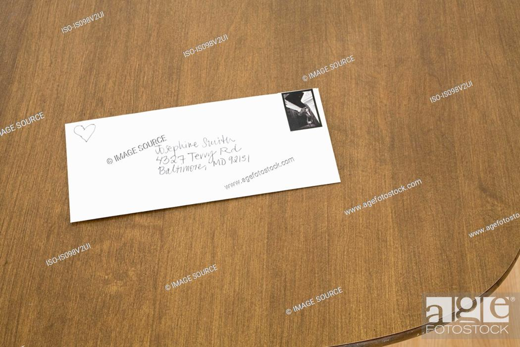 Stock Photo: Love letter.
