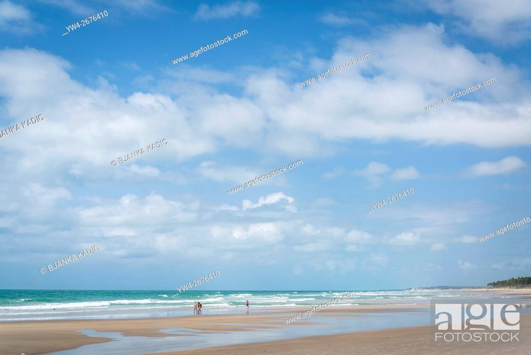 Stock Photo: Praia do Frances, Maceio, Alagoas, Brazil.