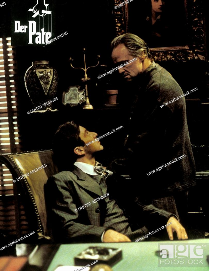 The Godfather Al Pacino Scene POSTER Table