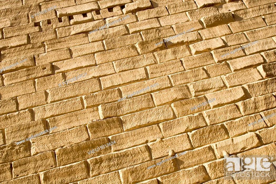 Stock Photo: Brick, Brick Wall, Close-Up, Day, Full Frame.