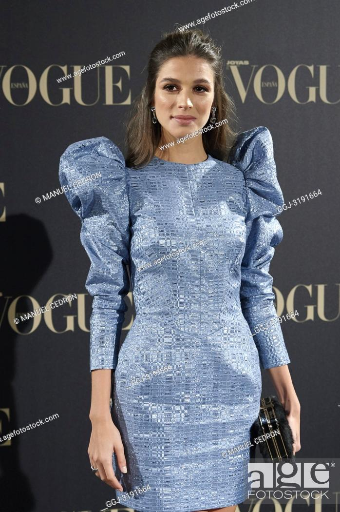 Stock Photo: Sandra Gago attends Vogue joyas awards photocall at Madrid at Palacio de Santoña on November 29, 2018 in Madrid, Spain.