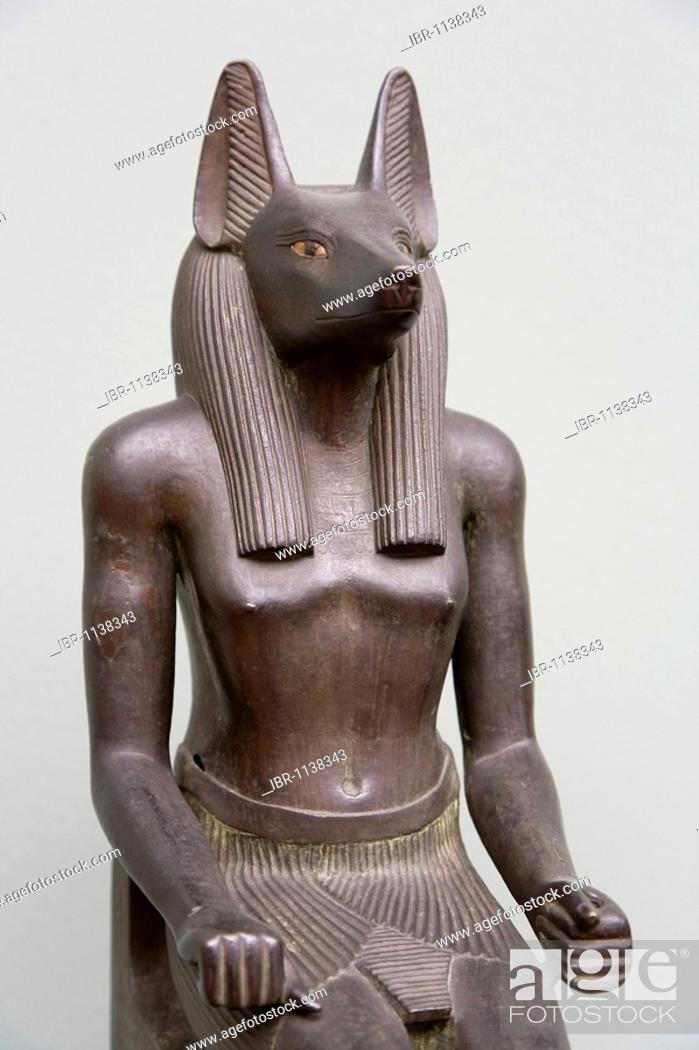 Stock Photo: Ancient art sculpture at The Glyptotek in Copenhagen, Denmark.