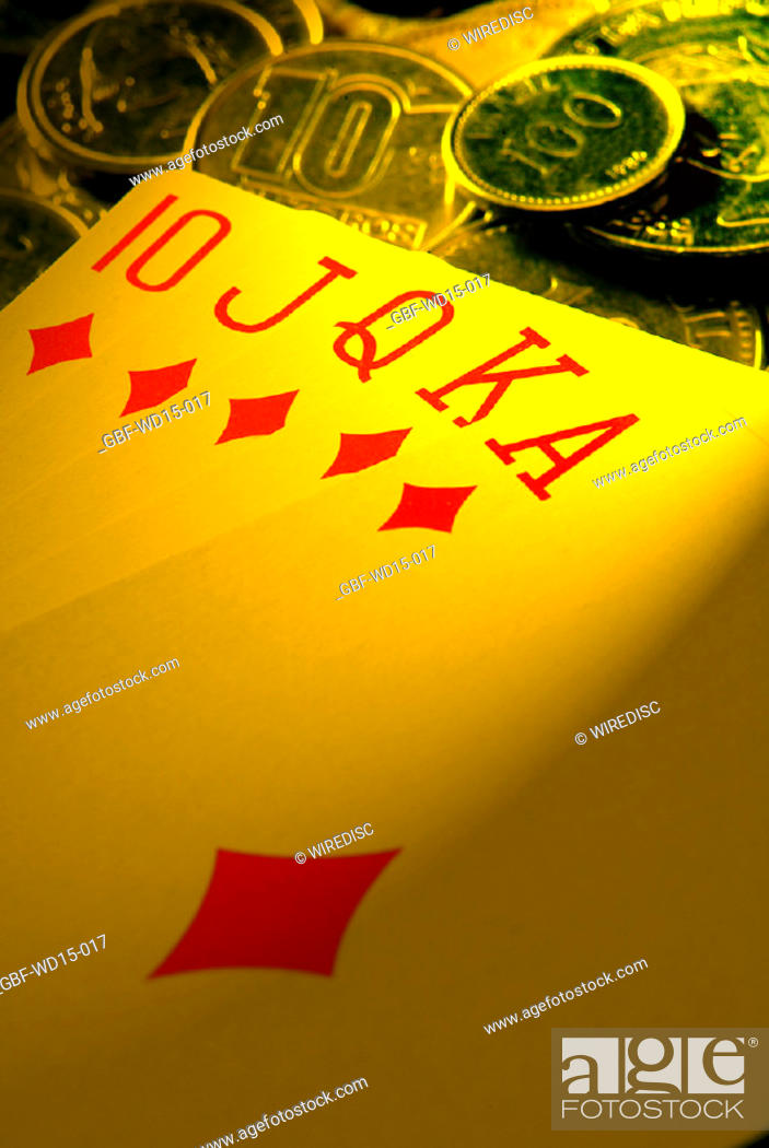Stock Photo: Businesses Concepts II, poker, Brazil.