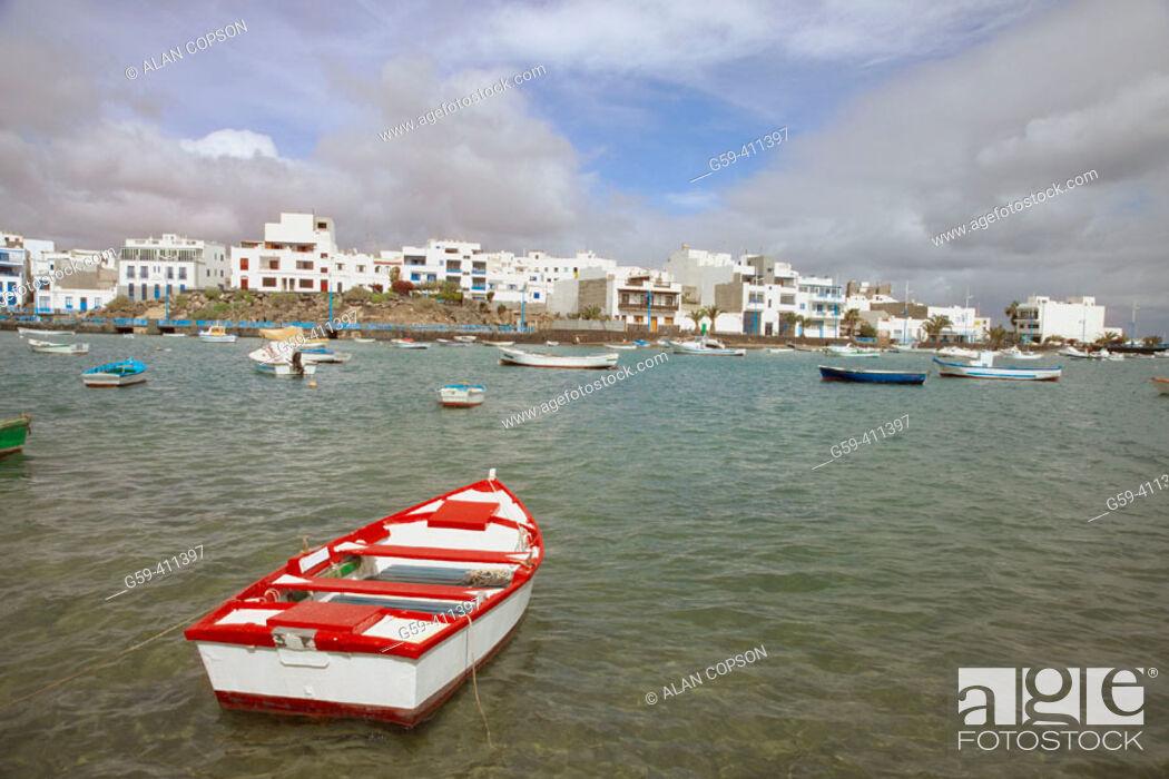 Stock Photo: El Charco de San Ginés. Arrecife. Lanzarote. Canary Islands. Spain.