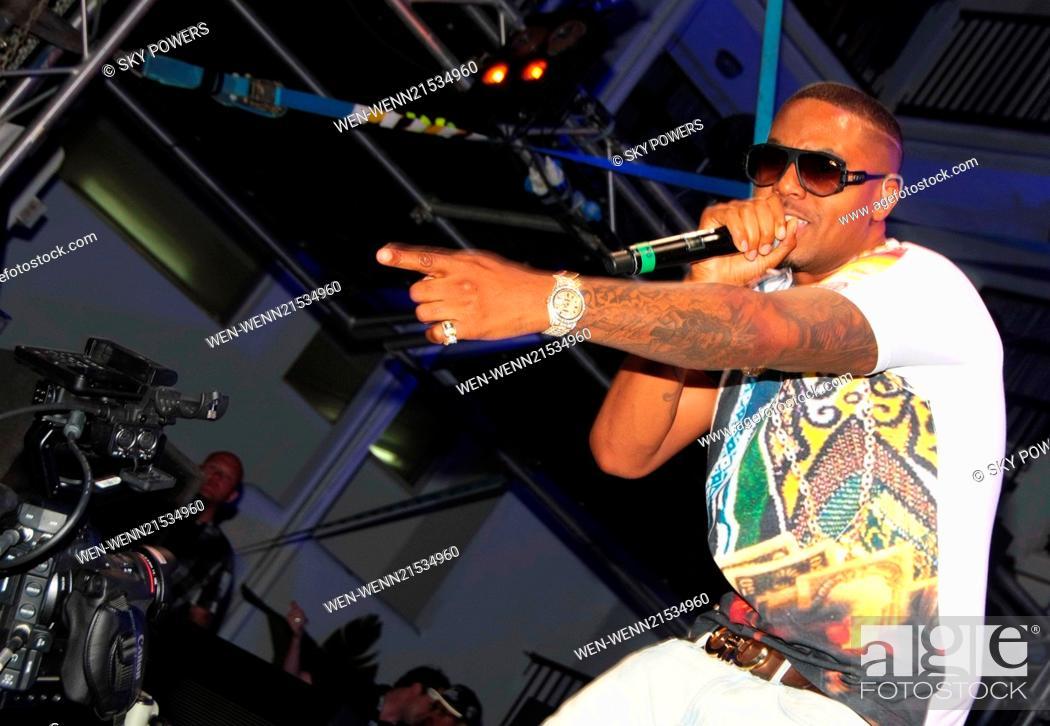 Rapper Nas 2014