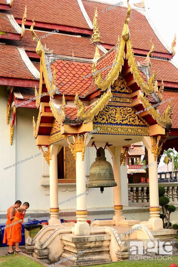 Imagen: Chiang Mai, Wat Phra Singh (14th century). Thailand.