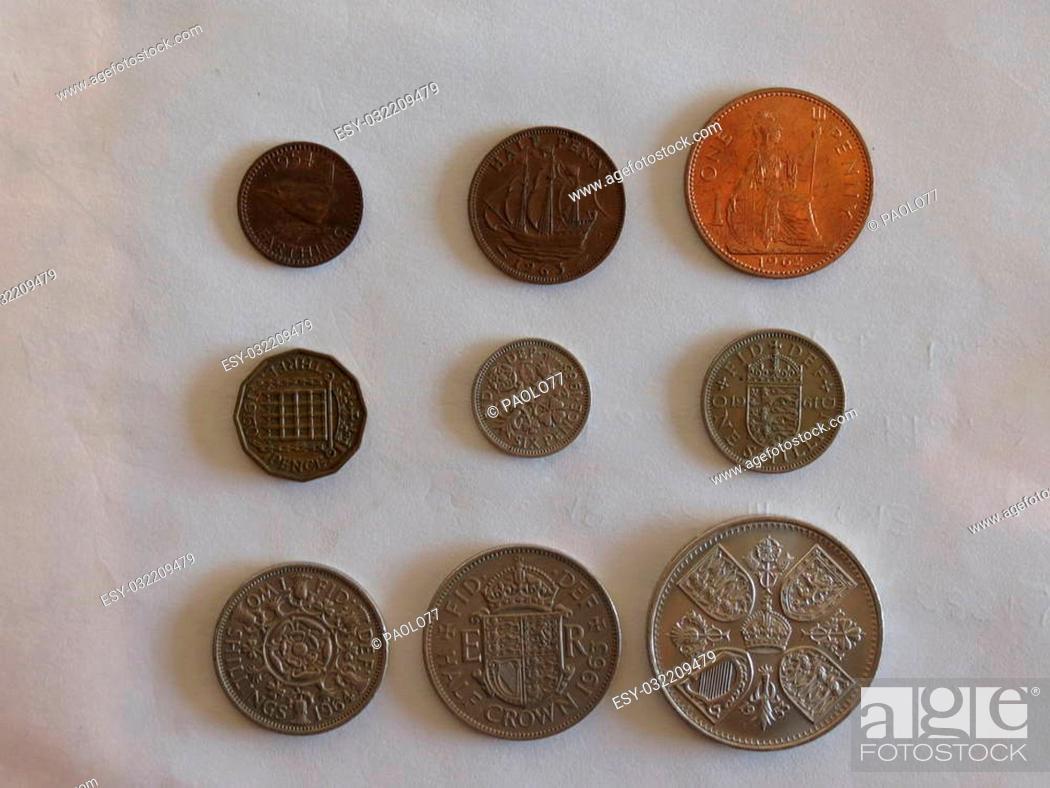 Pre Decimal Gbp British Pounds Coins