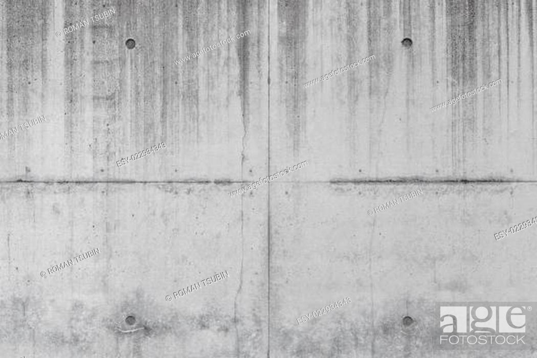 Stock Photo: Grungy concrete wall texture.