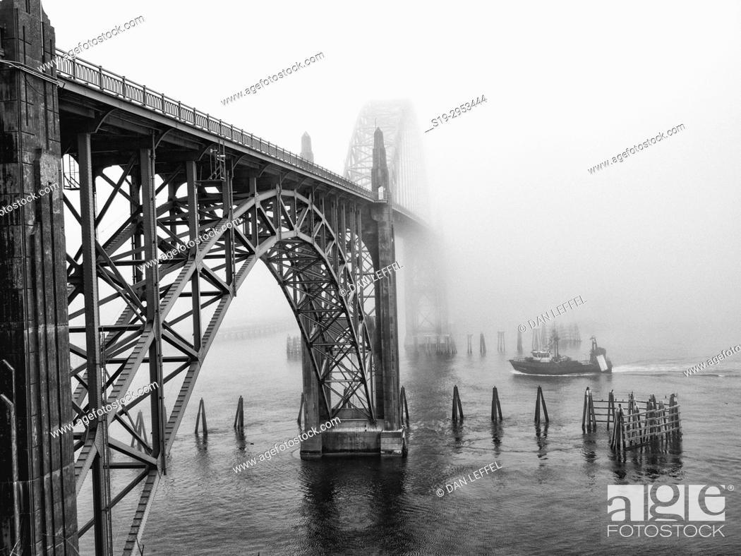 Imagen: Newport Oregon Bridge. USA.