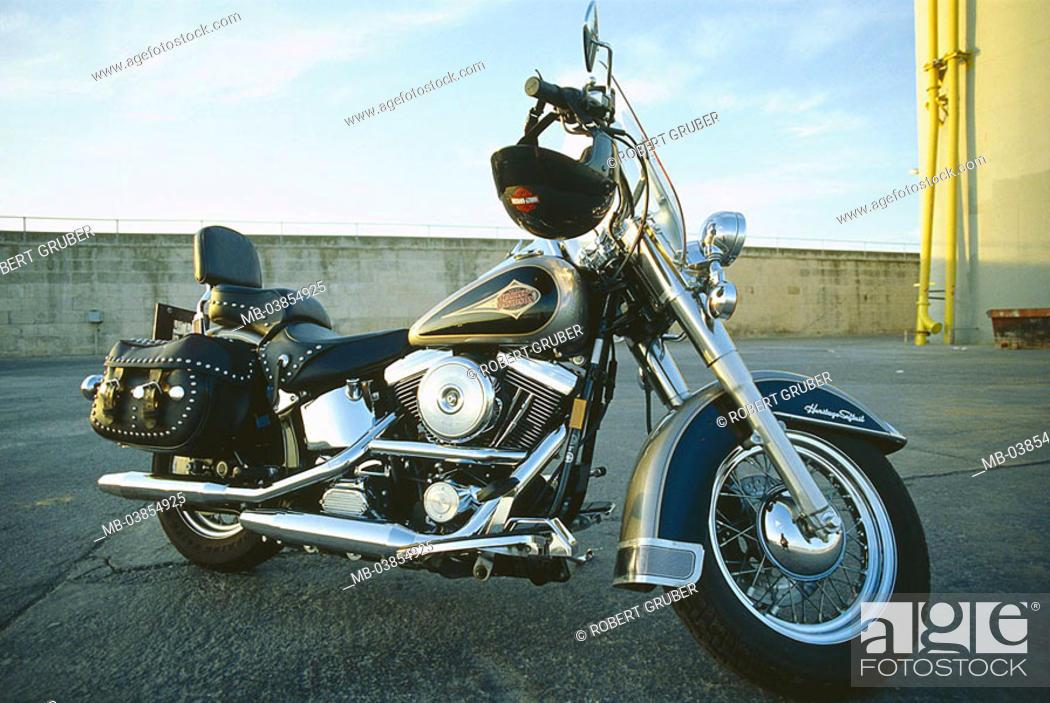 Motorcycle Harley Davidson No Property Release Motorcycle