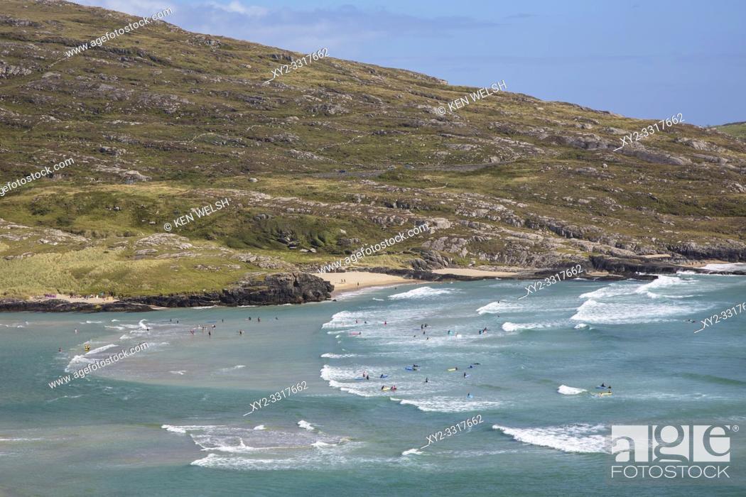 Photo de stock: Barleycove beach, aka Barlycove beach on the Wild Atlantic Way, County Cork, Republic of Ireland. Eire.