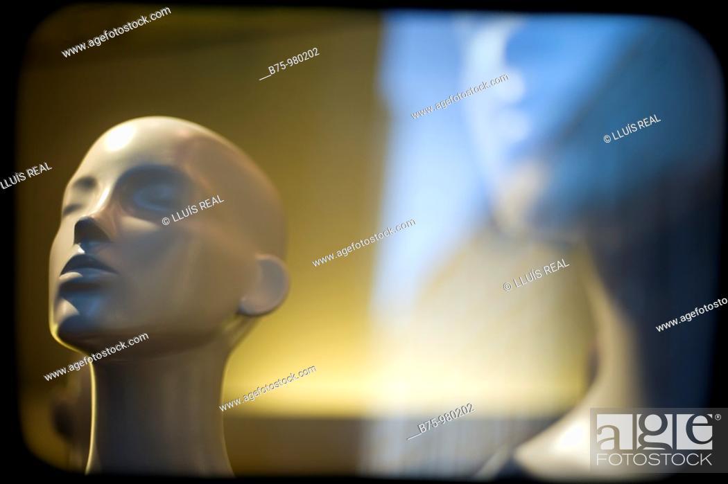 Stock Photo: Mannequins.