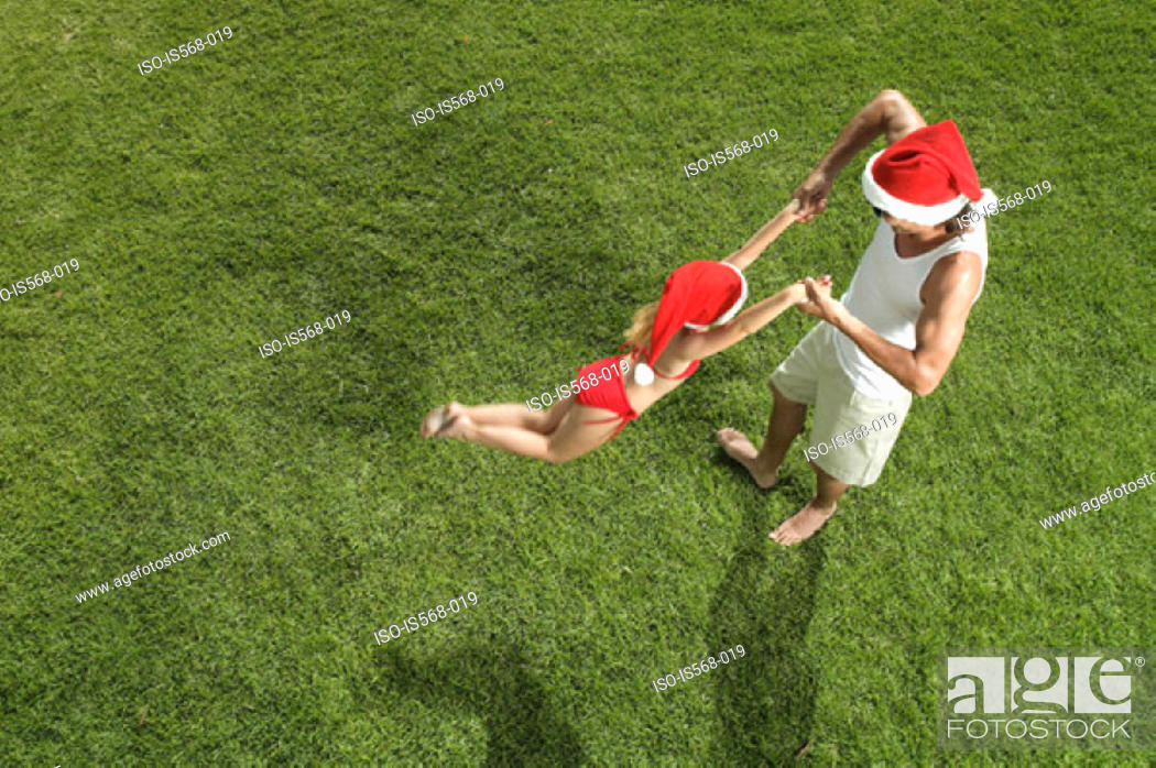 Stock Photo: Christmas fun.