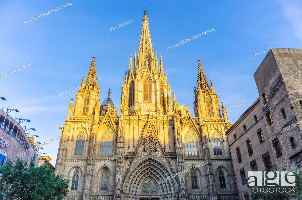 Imagen: Gothic cathedral, Barcelona, Spain.