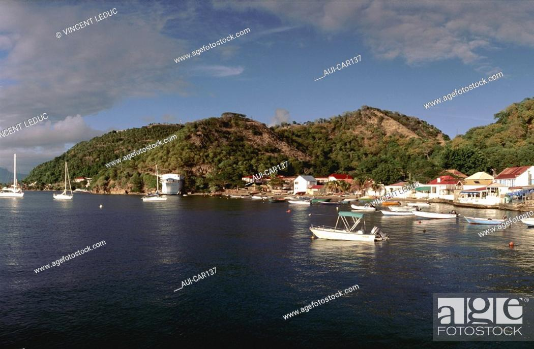 Stock Photo: French Caribbean - Caribbean Islands - Les Saintes.
