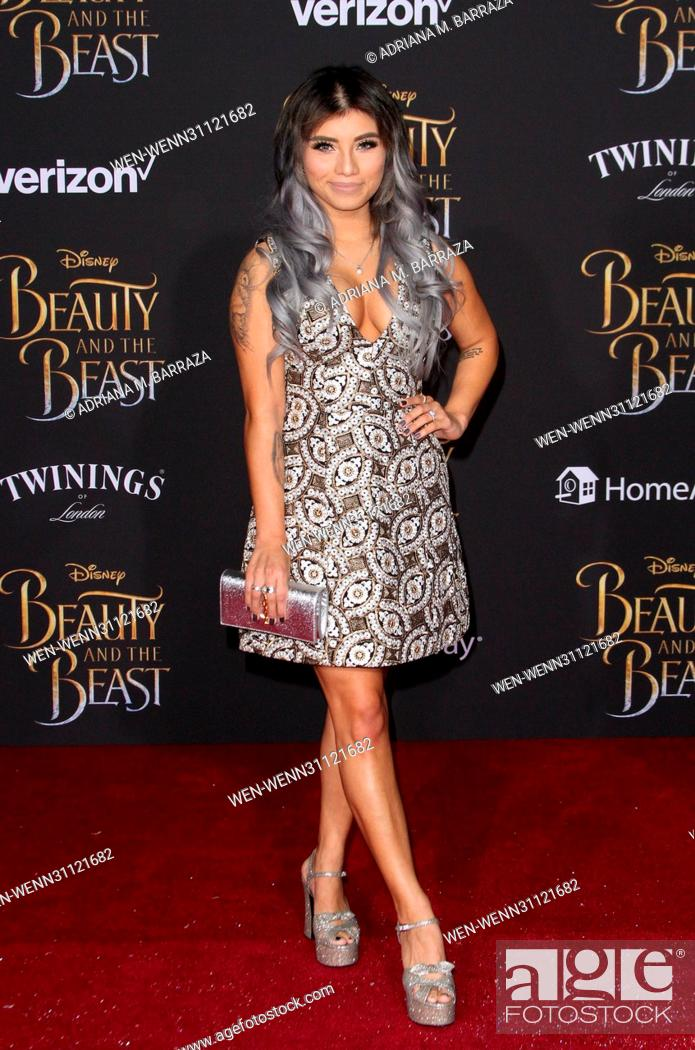Beauty and the Beast Premiere held at El Capitan Theatre