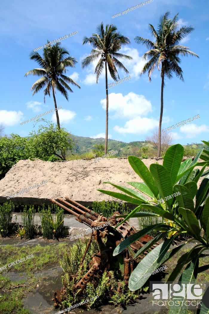 Imagen: Japanese Anti-Aircraft gun outside Admiral Yamomoto's bunker, Rabaul, East New Britain, Papua New Guinea.