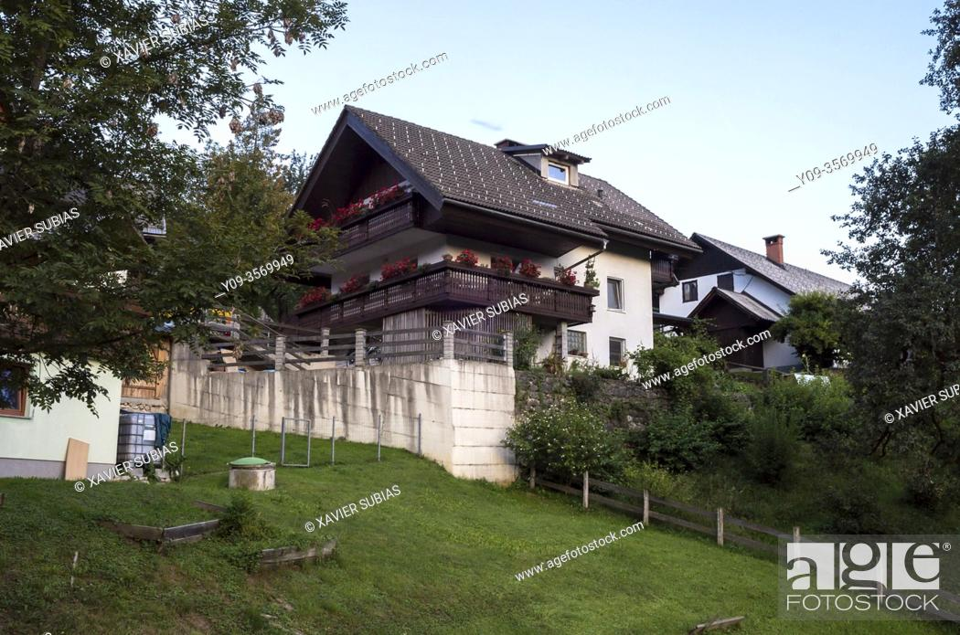Stock Photo: House, Jereka, Slovenia.