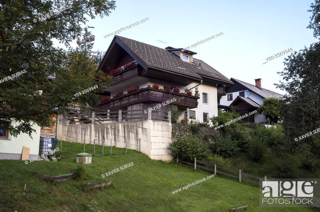 Imagen: House, Jereka, Slovenia.