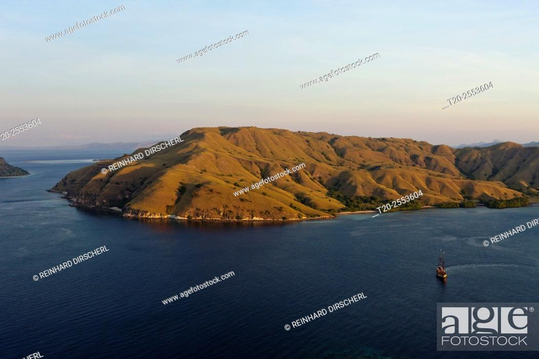 Stock Photo: View over Gili Lawa Darat Bay, Komodo National Park, Indonesia.