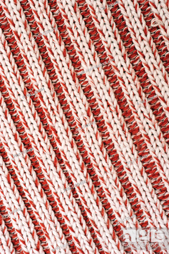 Stock Photo: Close-up of a woolen pattern.