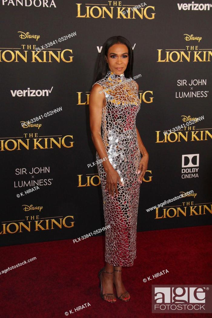 """Stock Photo: Michelle Williams 07/09/2019 """"""""The Lion King"""""""" Premiere held at the Dolby Theatre in Hollywood, CA. Photo by: K. Hirata / HNW/ PictureLux."""