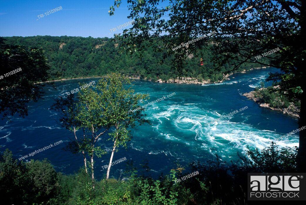 Imagen: Ontario Canada Niagara - River Whirlpool Rapids.