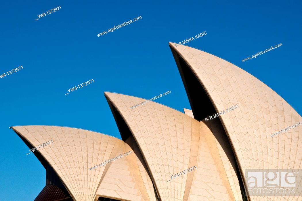 Stock Photo: Sydney Opera House, NSW, Australia.