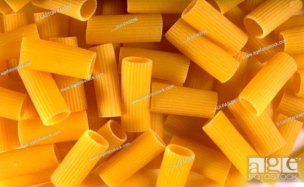Stock Photo: Pasta - Rigatoni.