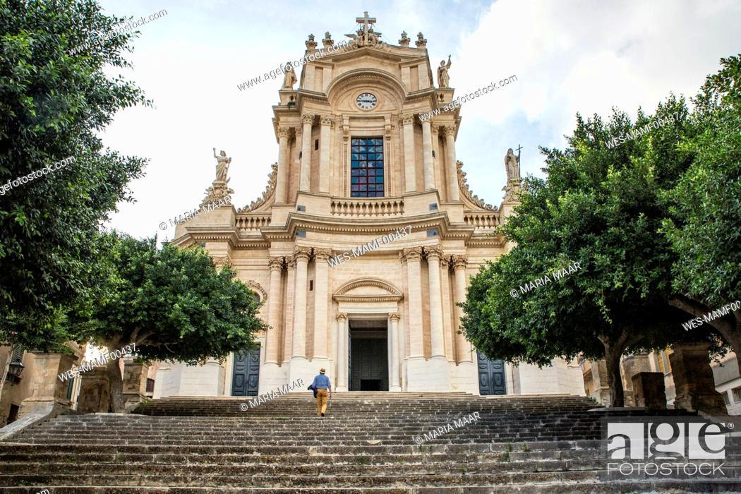 Imagen: Italy, Sicily, Modica, church San Giovanni.