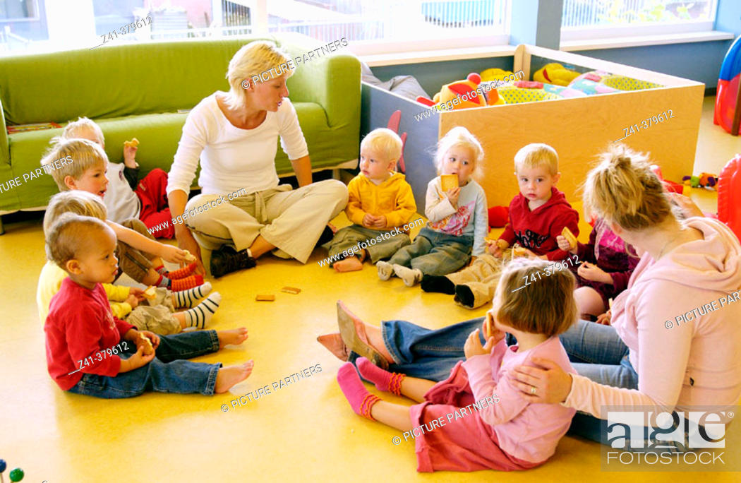 Stock Photo: Day care center.